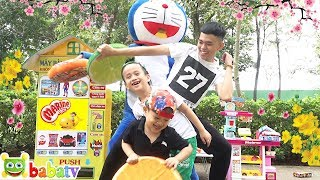 Su Hao and Doremon Pretend Play with Store Super Market Toy | Kids songs | BaBaTV