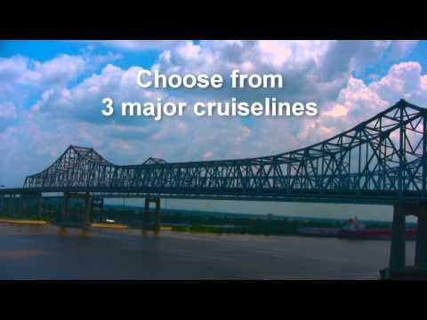 Enjoy New Orleans and Cruise from the Port of New Orleans