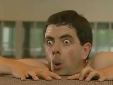 Mr. Bean - En la piscina