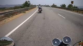 royal enfield interceptor 650 ride from tirupathi to gandhikota