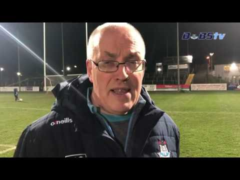 Dublin U20s manager Tom Gray speaks to Dubs TV, after the Leinster Final win over Laois