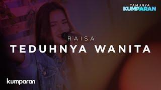 Download Lagu Teduhnya Wanita - Raisa   Live at kumparan Gratis STAFABAND