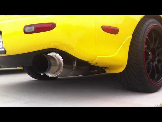 Apexi N1 ExTi 4in exhaust, CYM R1 FD3S RX-7, http://www.hyperspeedmotorsports.com/longrx7.html
