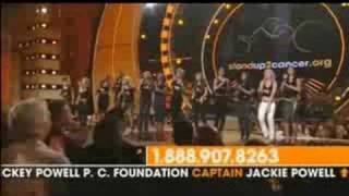 Клип Stand Up To Cancer Tethalon - Just Stand Up (live)