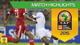Can 2015 | 1/4 finale - Congo 2-4 RD Congo