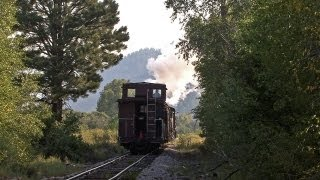 Steam in the Rockies - Cumbres & Toltec - Engineer / Fireman School