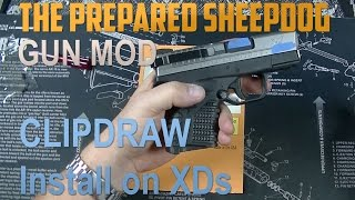 Installing Clipdraw on a Springfield XDs - Gun Modification