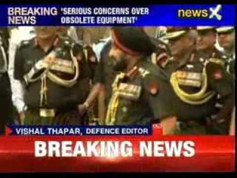 Army chief briefs PM of army's preparedness