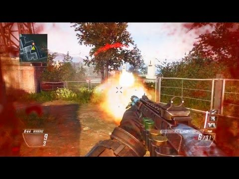 Black Ops 2 Camper's Free for All 1 (870 Flawless)