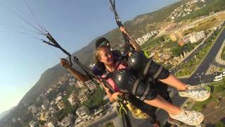Karin KRALOVA & Deniz GÖK ...sunway paragliding FROM to ALANYA / TURKEY