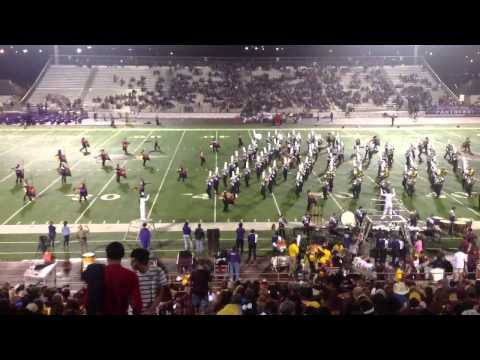Weslaco High School Marching Band VS Donna 09/06/2013