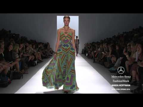 MARA HOFFMAN: MERCEDES-BENZ FASHION WEEK SPRING 2014 COLLECTIONS