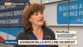 U.K.'s Morgan on Boris Johnson, Brexit Transition