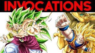 INVOCATIONS EXTREME Z BATTLE : need Broly & Goku SSJ3