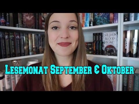 Lesemonat September und Oktober - 15 Bücher!