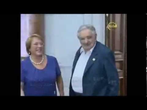 El Pepe Mujica y La Presidenta de Chile