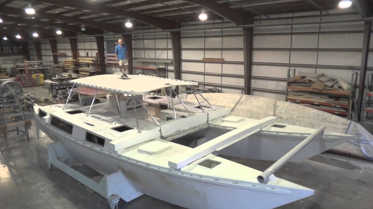 Ariki 48 Sailing Catamaran Build Update | 16 December 2013 - YouTube