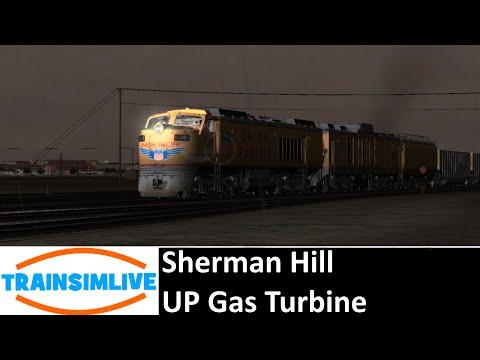 Train Simulator 2016 - Sherman Hill, UP Gas Turbine