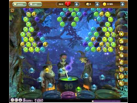 Bubble Witch Saga Level 83