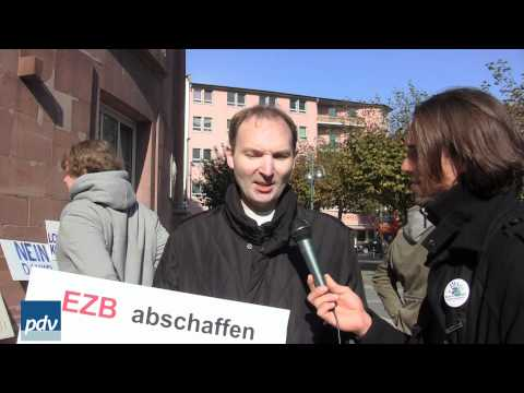 Anti Euro Demo | Patei der Vernunft &#8211; Frankfurt (Dokumentation 22.10.2011)
