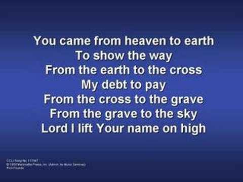 Lord I Lift Your Name On High (worship video w/ lyrics)