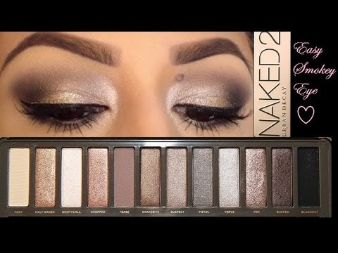 Urban Decay Naked 2 Tutorial - YouTube