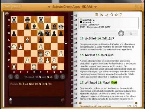 Ivanchuk - Kramnik Torneo de candidatos Londres 2013