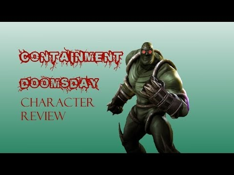 Injustice iOS - Containment Doomsday Character Review