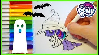 My Little Pony Halloween Costume Coloring! | Mommy Etc