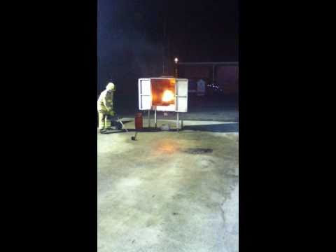 Chip Pan Fire Water Chip Pan Fire Demo