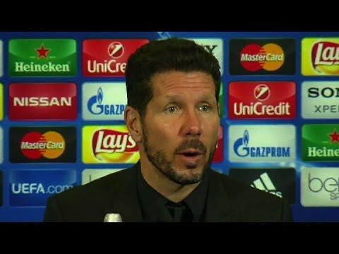 """Diego Simeone: """"Este resultado nos da la opción de ir a Münich con posibilidades"""""""