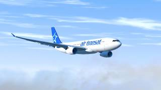 Flying On Empty - Air Transat Flight 236