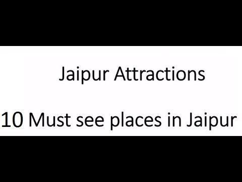 Jaipur 10 must see places | Jaipur Tourism attractions Spots Hawa Mahal Amber fort Jantar Mantar