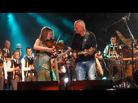 Dan Ar Braz, Dominique Dupuis&Bagad Kemper - Call To The Dance (Live in Lorient, 2012)