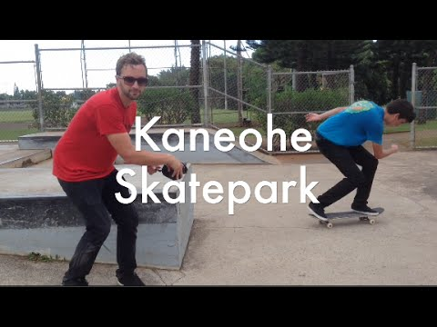 The Kaneohe Skatepark Video