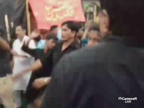 Live Azadari on 4th Moharram 1439, Gopalpur , India