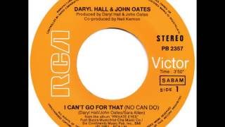 Daryl Hall & John Oates - I Can