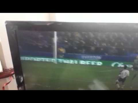 Tim Howard's goal (Everton v Bolton 2012) 102 yards