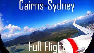 FULL FLIGHT | Cairns to Sydney | B737-800 | Virgin Australia | VA1418