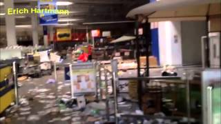 Ukraine. Robbed a supermarket