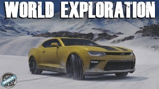 Exploring the Entire World of BLIZZARD MOUNTAIN!