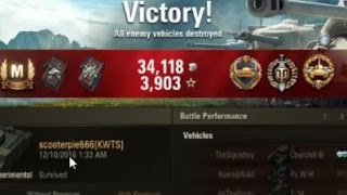 World of tanks O-I expr The battlefield bully