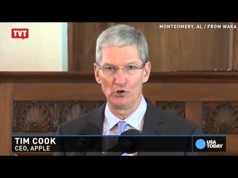 Presidente executivo da Apple, Tim Cook, declara que é gay