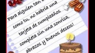 FELIZ CUMPLEAÑOS SOBRINO !!