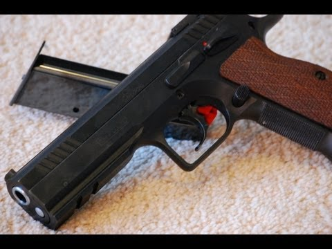 Пистолет Tanfoglio Stock III