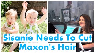 Sisanie Argues With Michael About Cutting Maxon's Hair | On Air With Ryan Seacrest