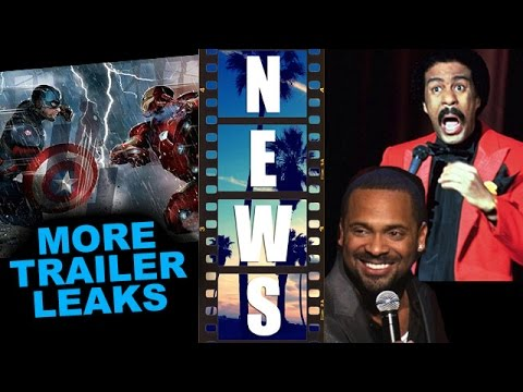 Captain America Civil War Trailer, latest leaks! Mike Epps is Richard Pryor - Beyond The Trailer