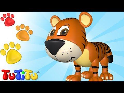 Tiere auf Deutsch | Tiger | TuTiTu Deutsch