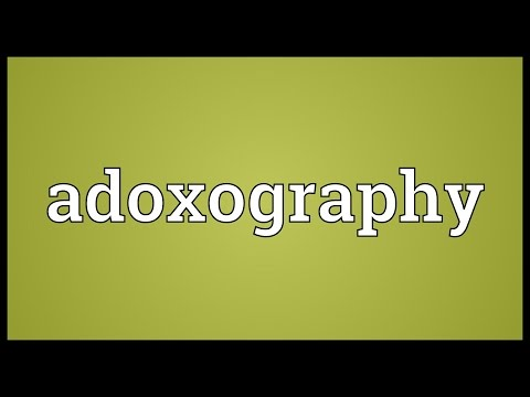 Header of Adoxography