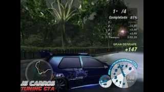 RACHA COM UM GOLF GTI NO NFSU 2 (2º PARTE)